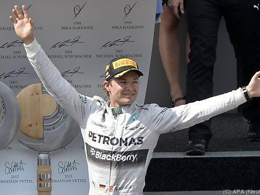 Rosberg längerfristig an Mercedes gebunden