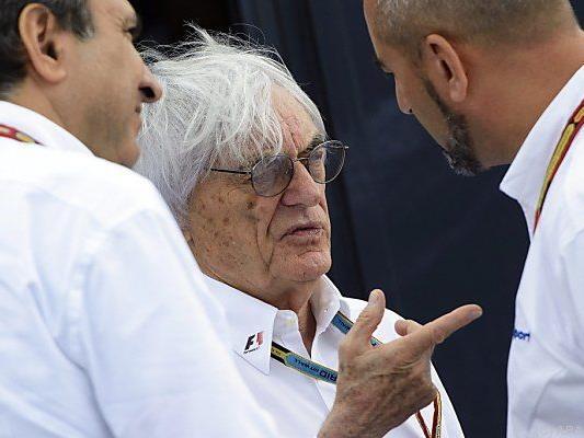 Formel-1-Boss Bernie Eccclestone (83)