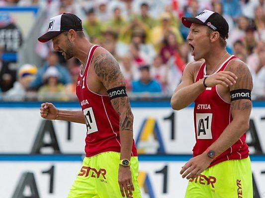 Zwei Siege für Österreichs Herren-Topduo