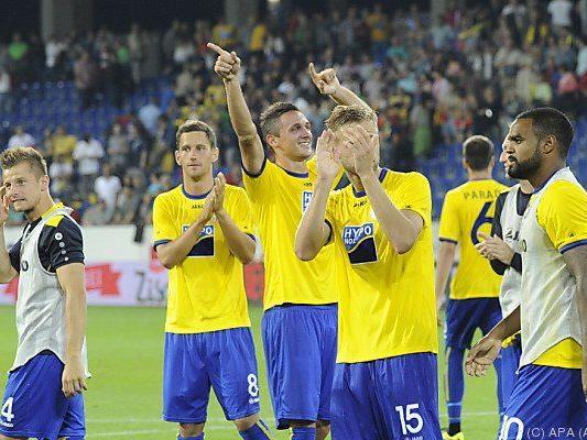 Der SKN St. Pölten verlor in der 3. Qualifikationsrunde gegen PSV Eindhoven nur mit 0:1.