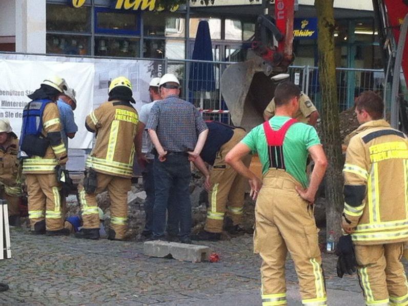 20 Mann der Feuerwehr Freilassing standen im Einsatz.