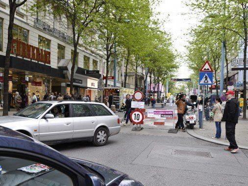 Mariahilfer Straße: Dauerhaftes Nachtparken kommt nicht