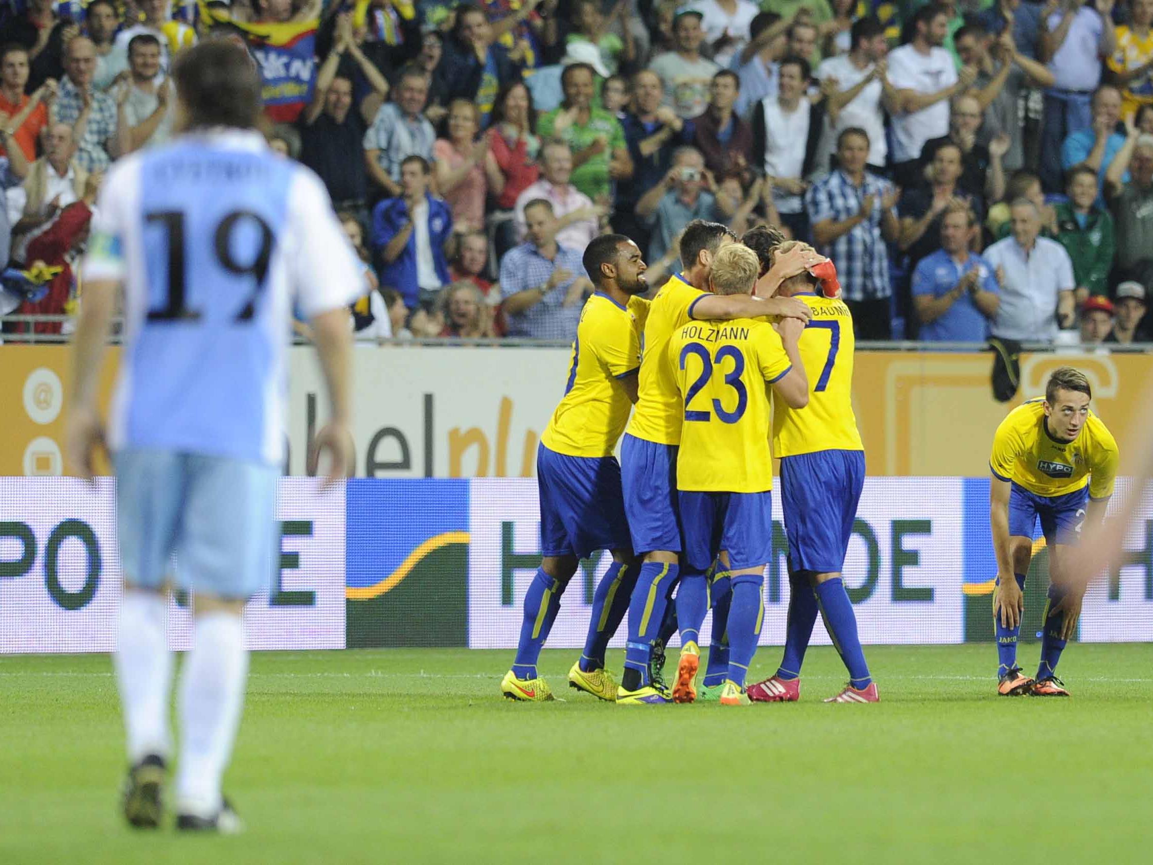SKN St. Pölten schafft den Aufstieg in die dritte Runde der Europa League.