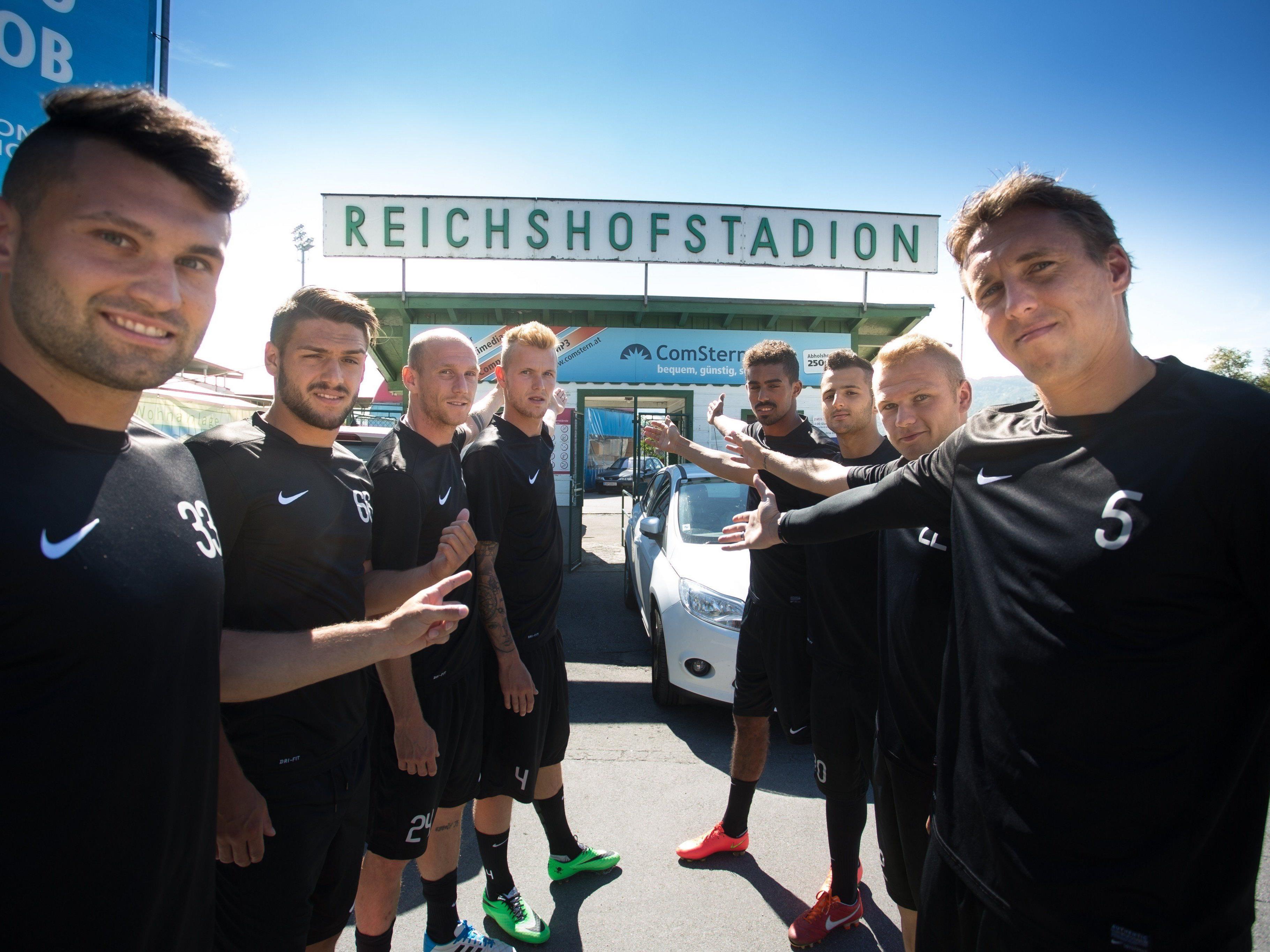 Erste Runde in der Sky Go Erste Liga: SC Austria Lustenau gegen den Floridsdorfer AC.