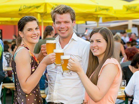 Auch heuer darf bei den Ottakringer Braukultur Wochen wieder dem gemeinsamen Biergenuss gefrönt werden