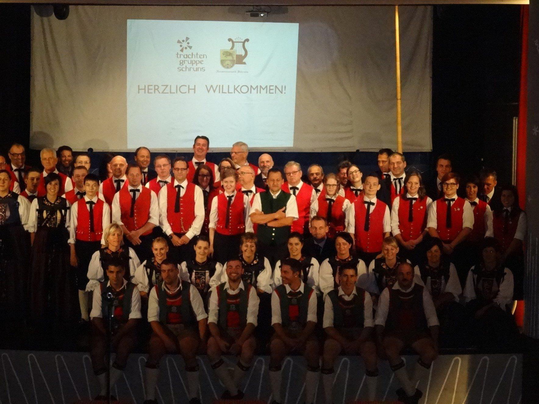 Benefizabend der Trachtengruppe und Harmoniemusik Schruns.