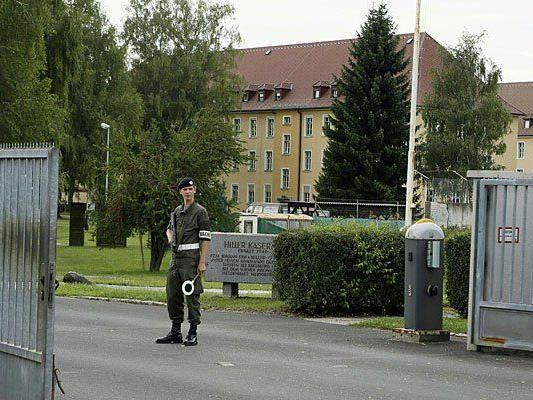 Die Linzer Kaserne wurde begangen und geprüft