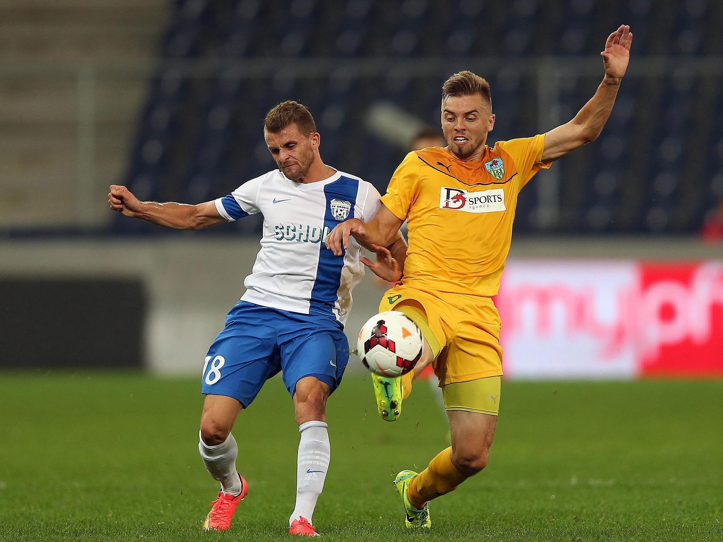 In der dritten Qualifikations-Runde der Europa League verlor SV Grödig mit 1:2.