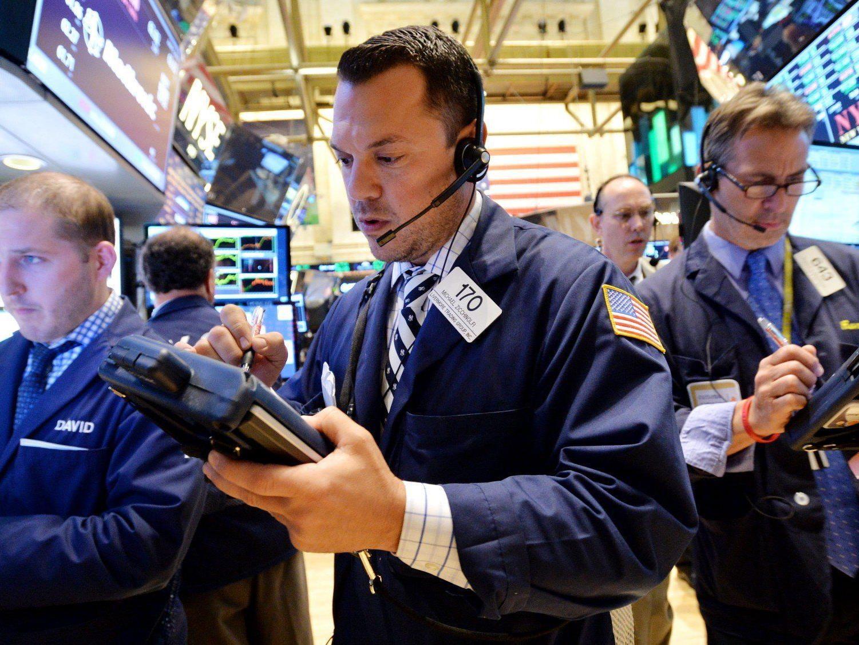 Der Dow Jones sprang am Donnerstag erstmals über 17.000 Punkte.