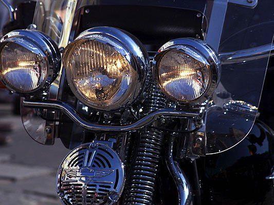 Ein in Wien-Favoriten gestohlenes Motorrad wurde wiedergefunden