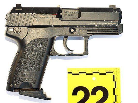 Diese Pistole (Softgun) hatte der Mann beim Aussteigen in der Hand