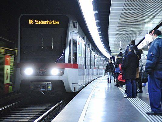 Die Linie U6 war Dienstagfrüh lahmgelegt