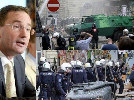 Der Wiener Polizeipräsident hat am Dienstag den Einsatz verteidigt.