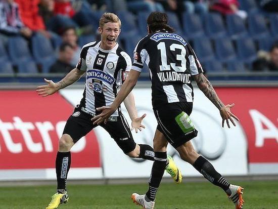 Florian Kainz (l.) wechselt zu Rapid Wien