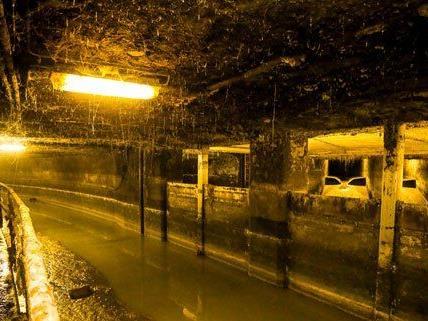 Die Kanalisation gehört sicher nicht zu den schönsten Arbeitsplätzen der Stadt.