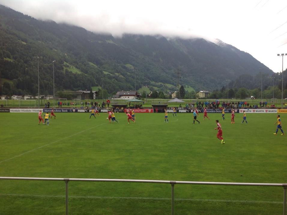 800 Zuschauer sahen das Testspiel zwischen der Montafon Auswahl und dem VFB Stuttgart