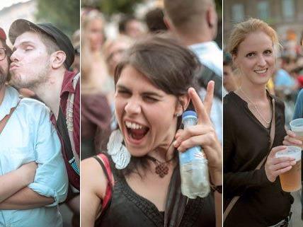 Heuer waren 60.000 Besucher am Wiener Popfest.
