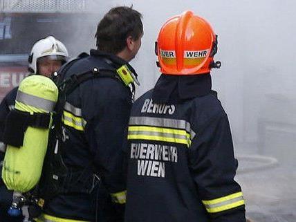 Brand: Der Wiener hatte Glück im Unglück.