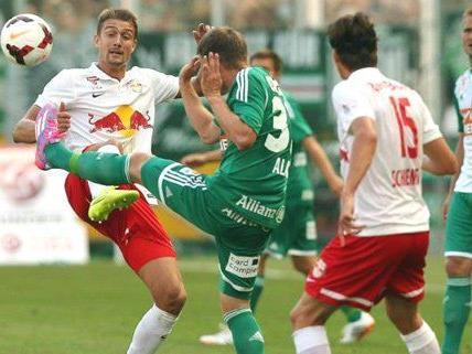 Bittere Niederlage für Rapid gegen Salzburg.