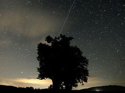 Auch heuer wieder gibt es eine Sternschnuppennacht zu bewundern - wenn das Wetter mitspielt.
