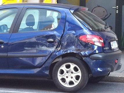 Zwar gab es Blechschaden, verletzt wurde aber niemand bei dem Unfall.
