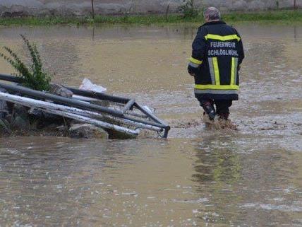 Unwetter - Landessicherheitszentrale: Burgenland steht unter Wasser