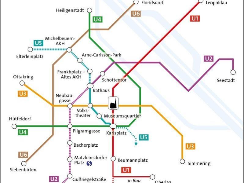 Die Neue U Bahnlinie U5 In Wien Wird Türkis Abstimmung Beendet