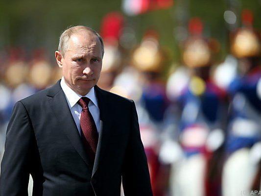 Präsident Putin setzt Gegenmaßnahmen