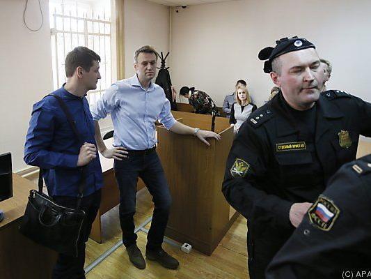 Nawalny gehört zu Putins größten Kritikern