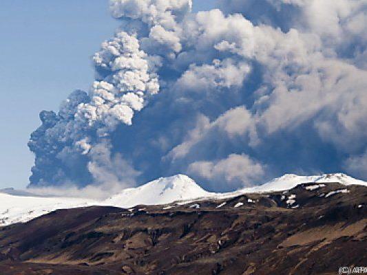 Zahlreiche Vulkane sind auf Island aktiv