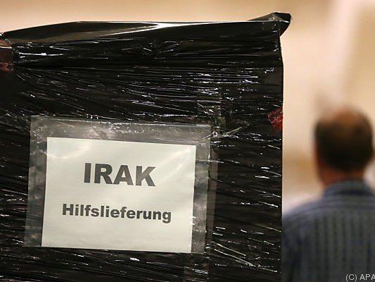 Die Krisenherde Irak und Ukraine liegen am Tisch