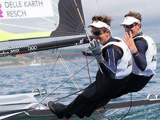 49er Nico Delle-Karth und Nikolaus Resch