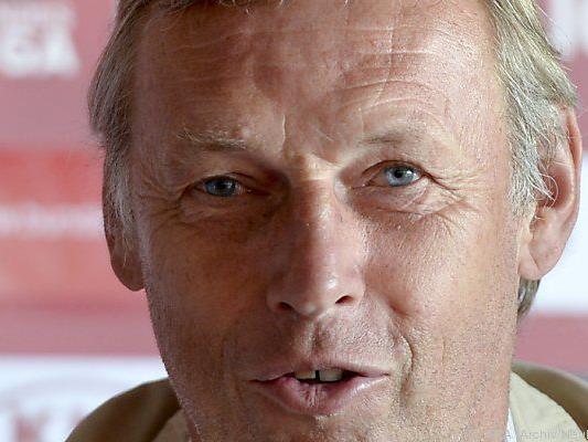 LASK-Trainer Daxbacher kann zufrieden sein