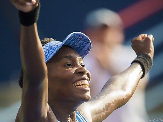 Venus Williams steht im WTA-Finale