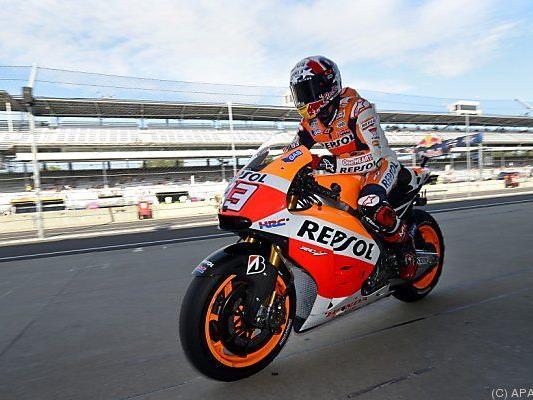 Marquez fuhr Streckenrekord