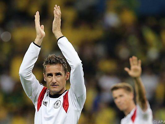 Klose nimmt Abschied vom Nationalteam