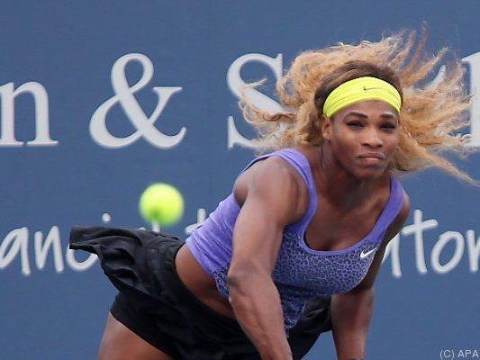Die US-Amerikanerin ist für die US Open bereit