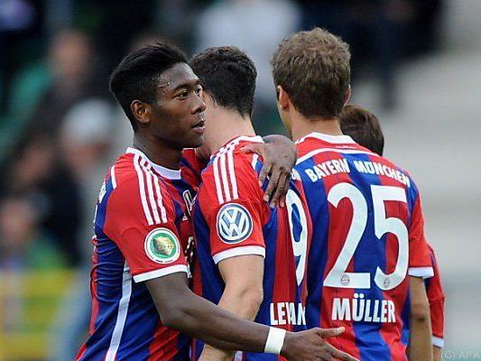 Titelverteidiger Bayern von allen gejagt