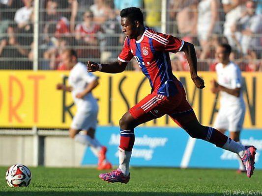 Alaba will viele Spiele für die Bayern machen