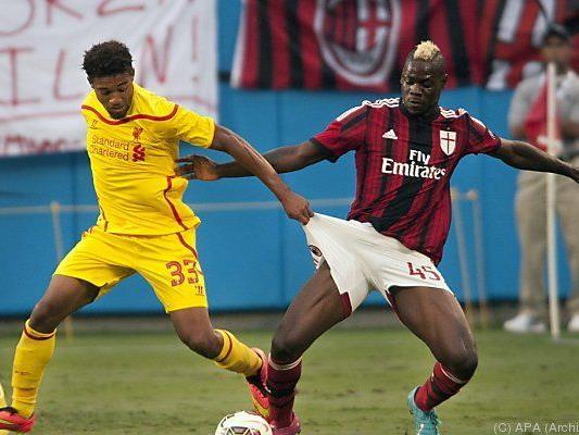 Liverpool greift nach Milans Balotelli