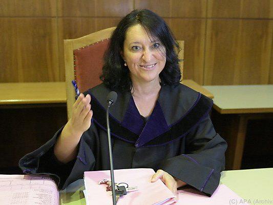 Richterin Juschitz beim Wettskandal-Prozess