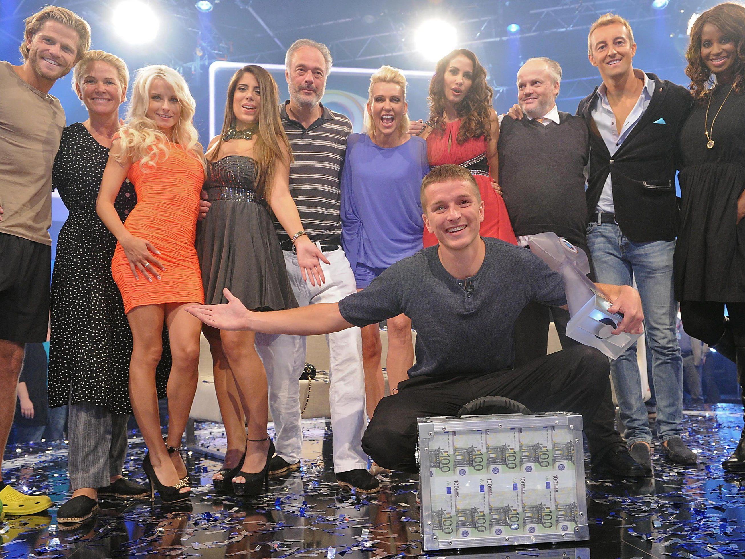 100.000 Euro Siegesprämie für Neu-Promi Aaron Troschke.