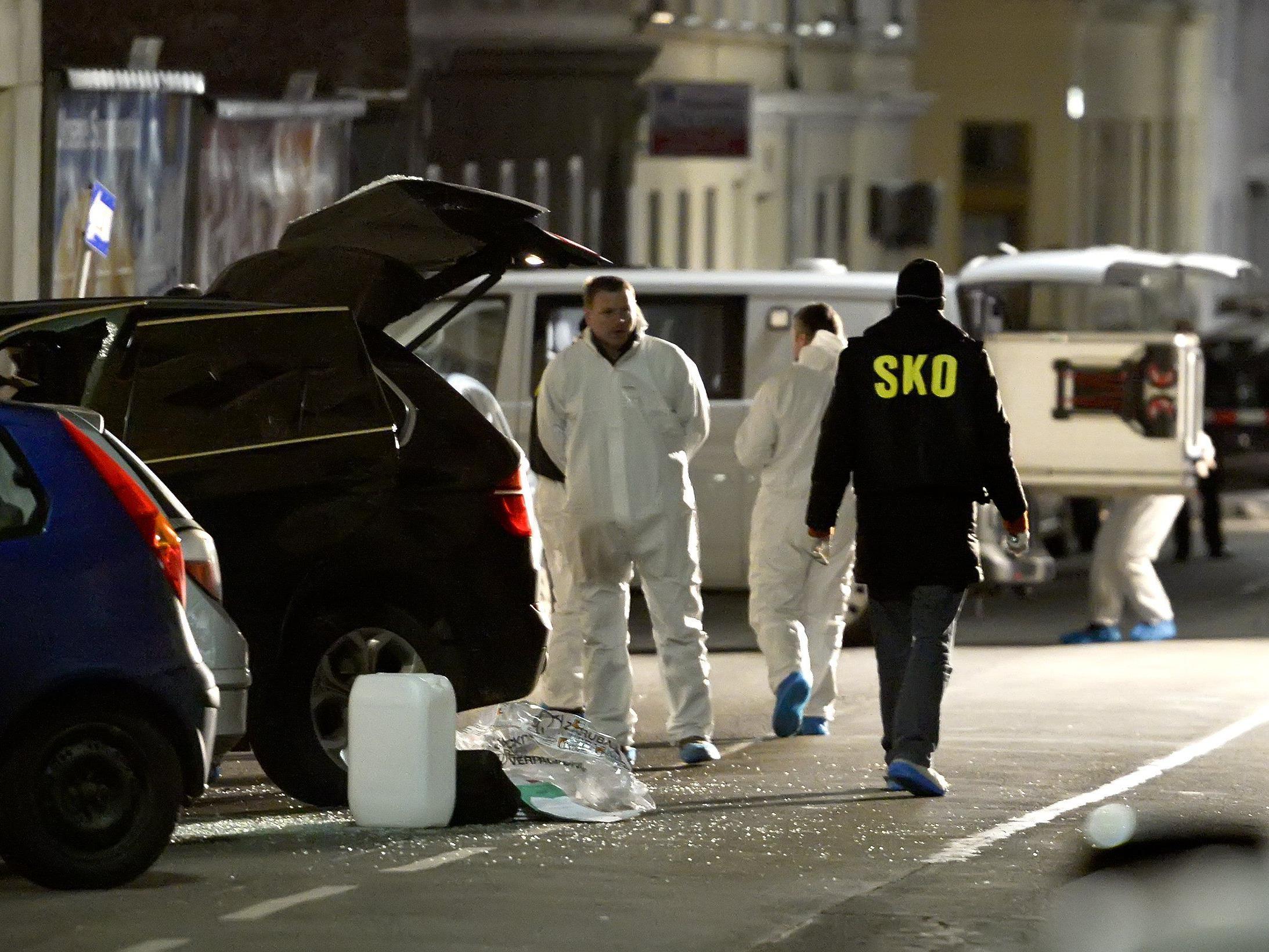 """Beim """"Handgranatenmord"""" im Jänner wurden zwei Menschen durch eine Explosion getötet."""