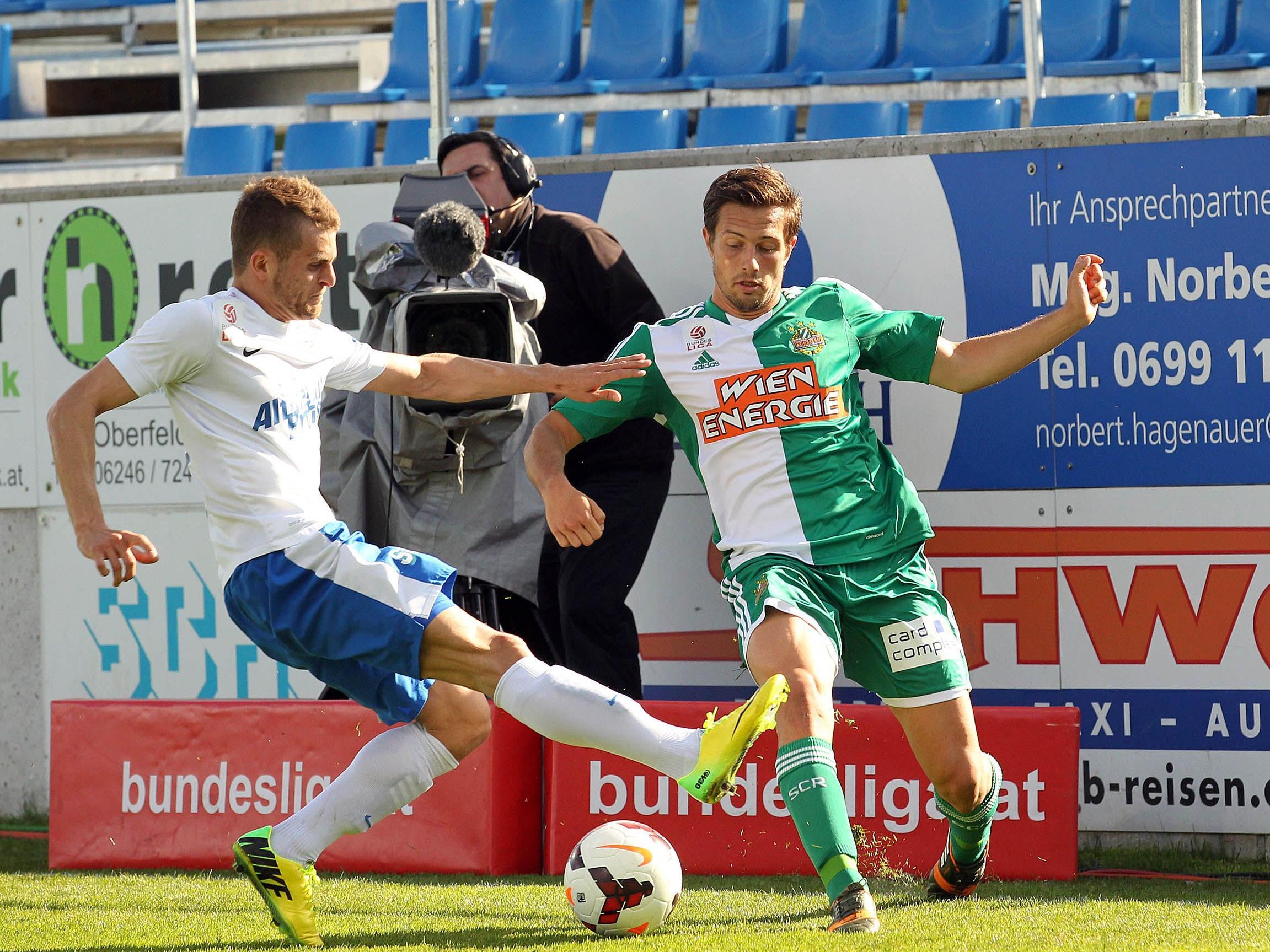 Linksverteidiger Thomas Schrammel verlängerte seinen Vertrag beim SK Rapid Wien.