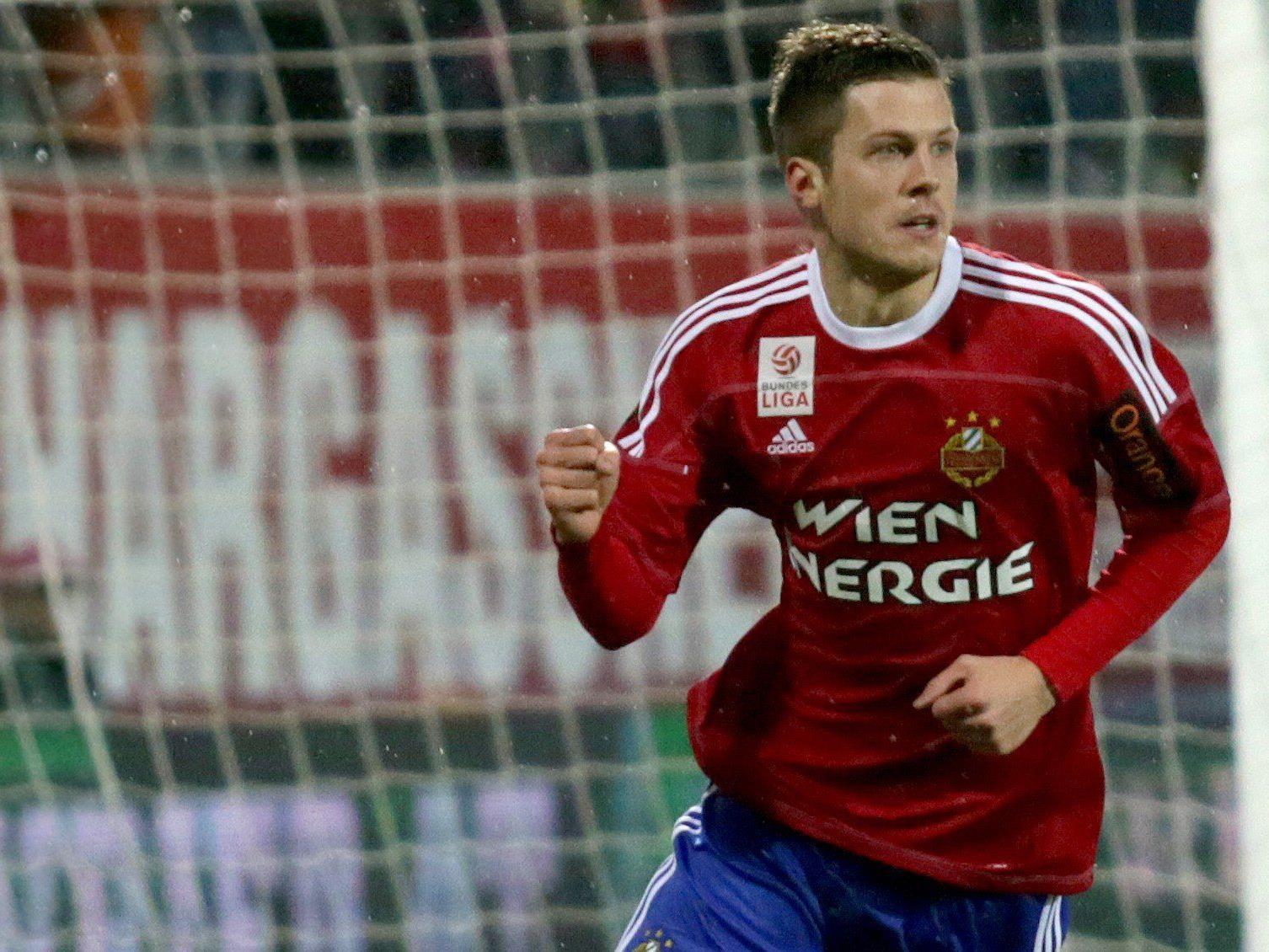 Rapid Wien im Verletzungspech: Deni Alar fällt für 12 Wochen aus.