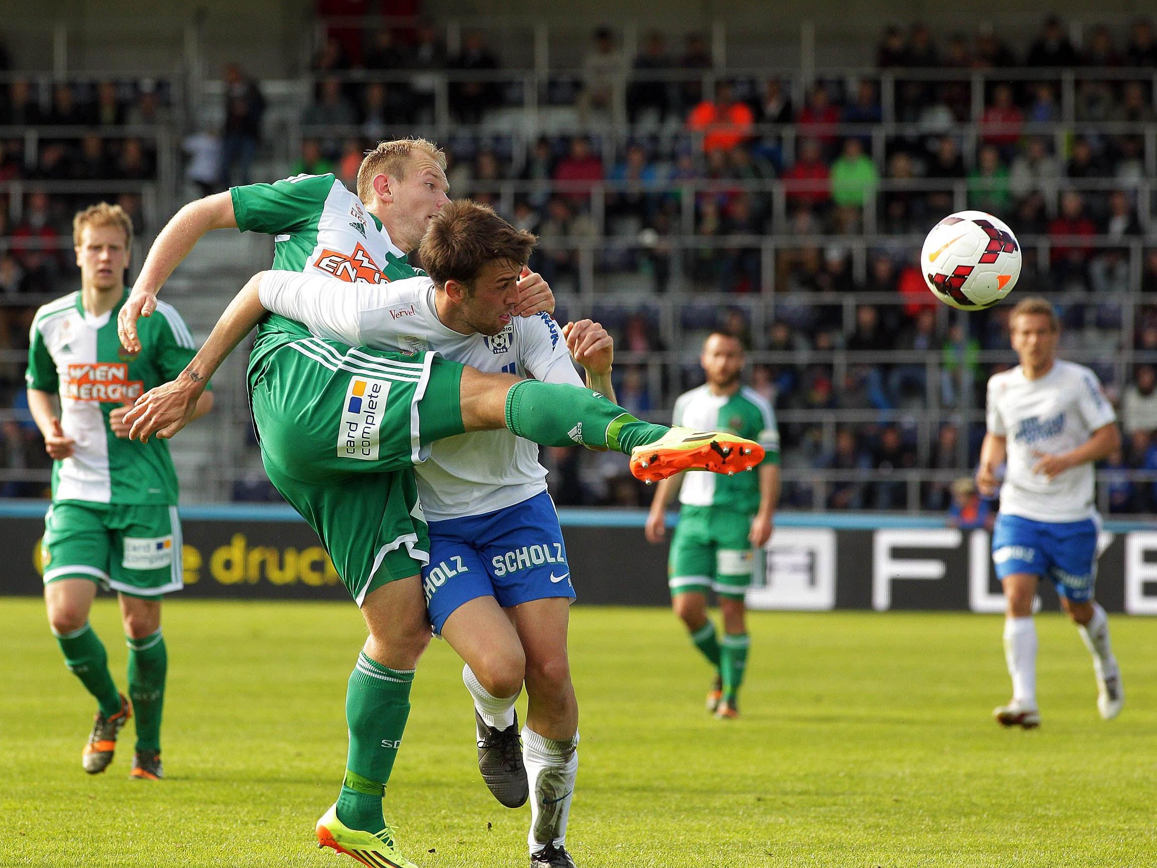 LIVE-Ticker zum Spiel SK Rapid Wien gegen SV Grödig ab 16.30 Uhr.