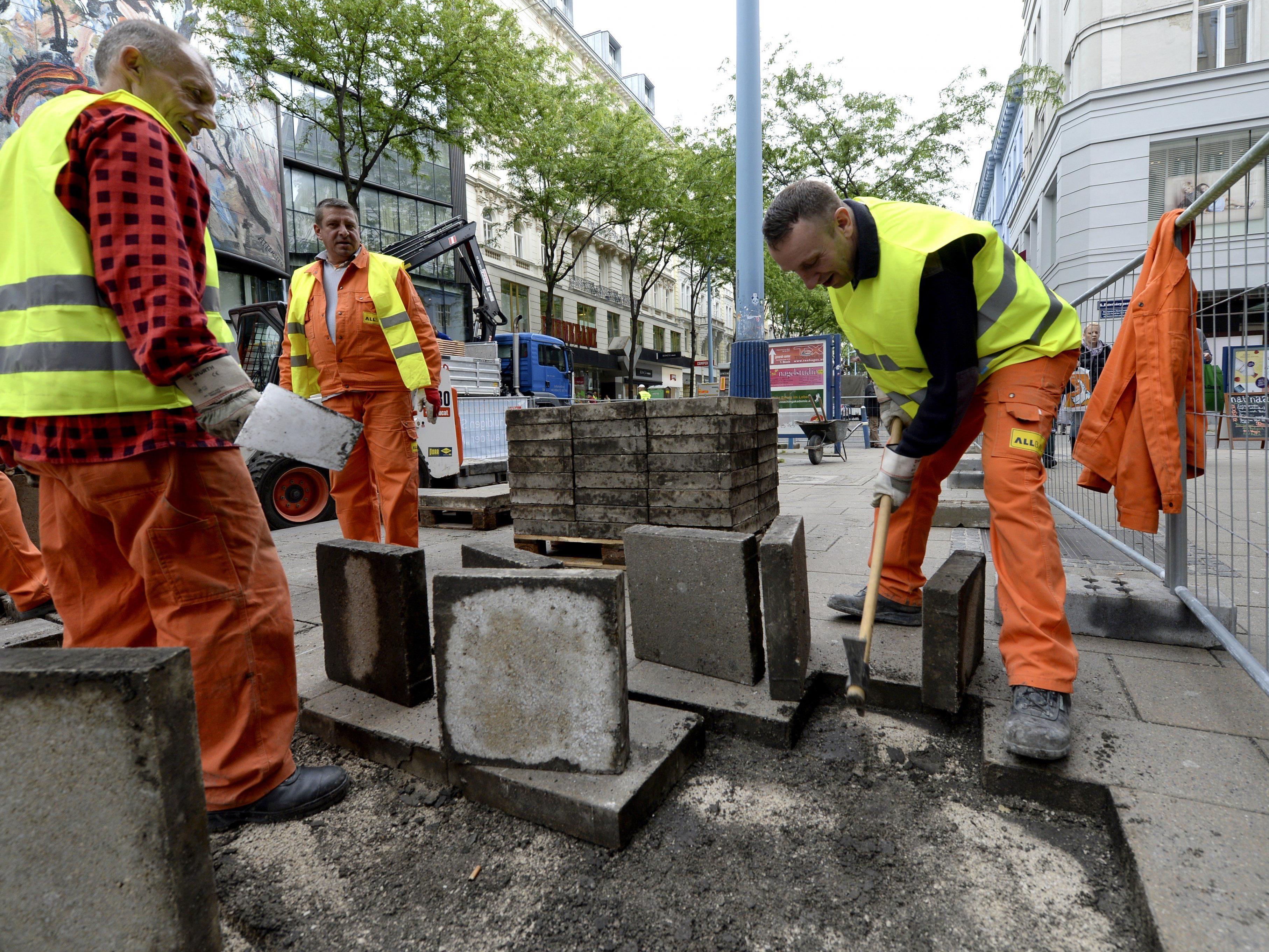 Mariahilfer Straße: Baustelle startet am Montag in Herbstbauphase 2014