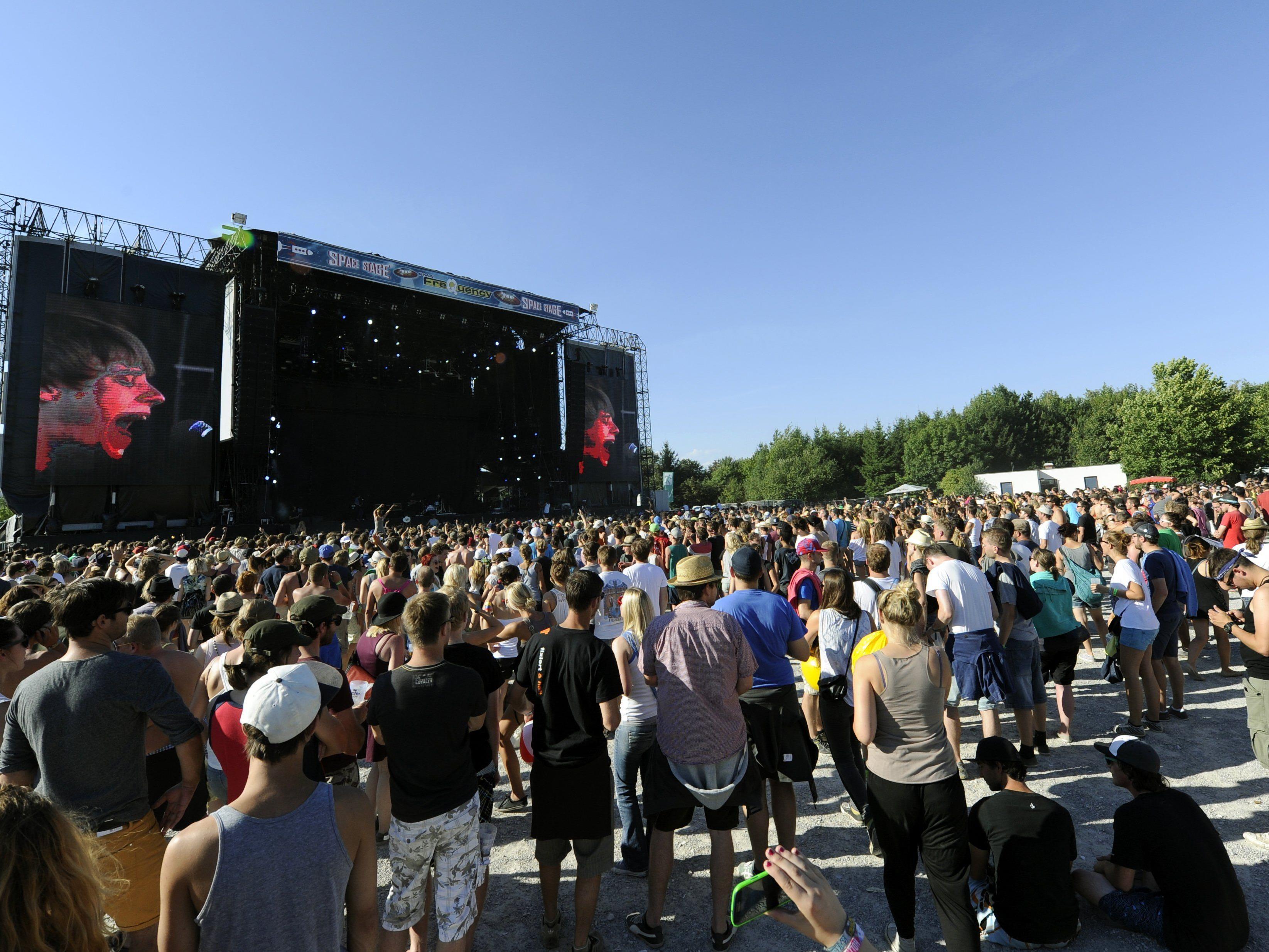 Der Countdown zum Frequency-Festival 2014 läuft.