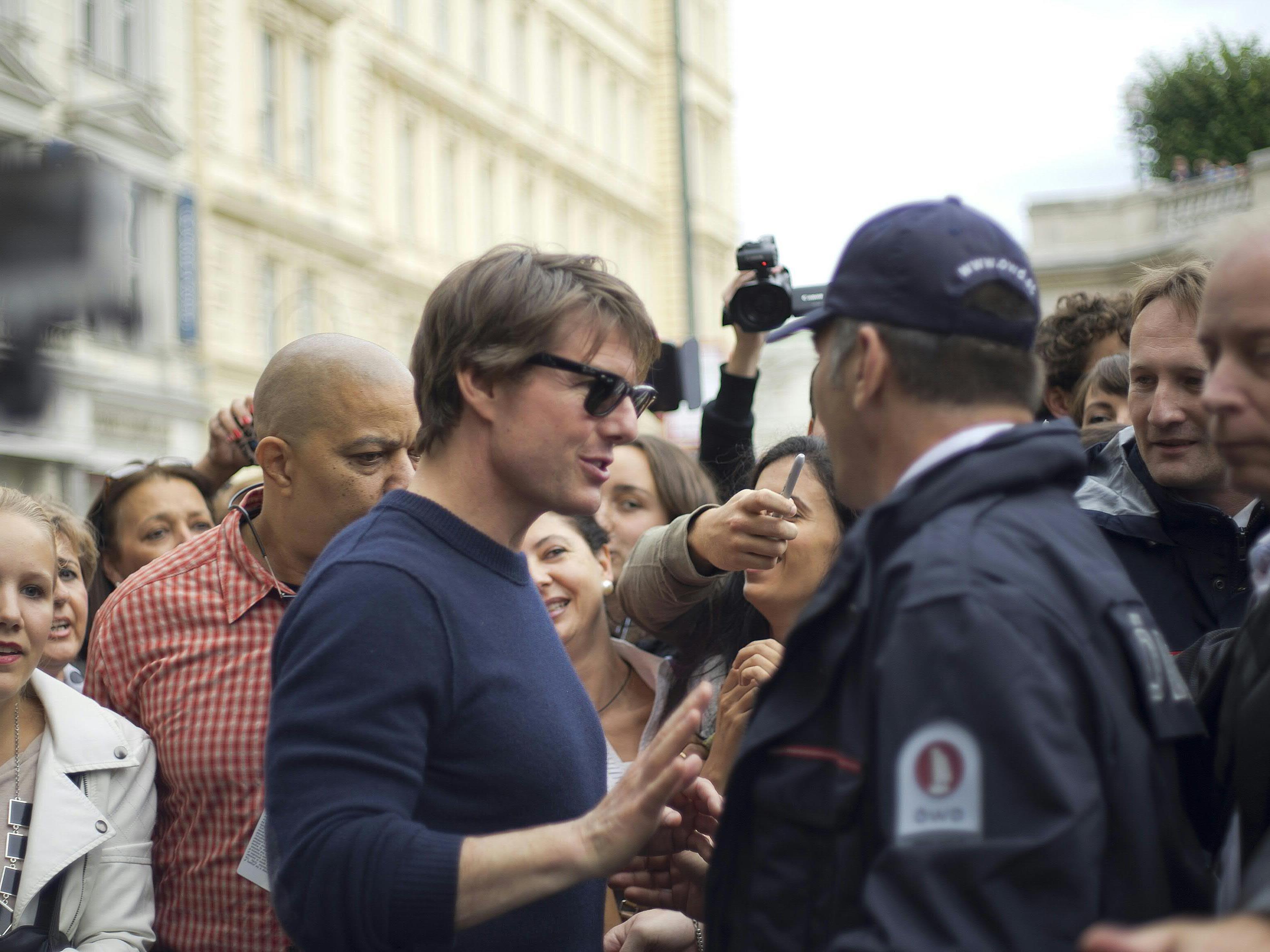 """Dreharbeiten für Tom Cruise' """"Mission: Impossible"""" in Wien laufen an"""
