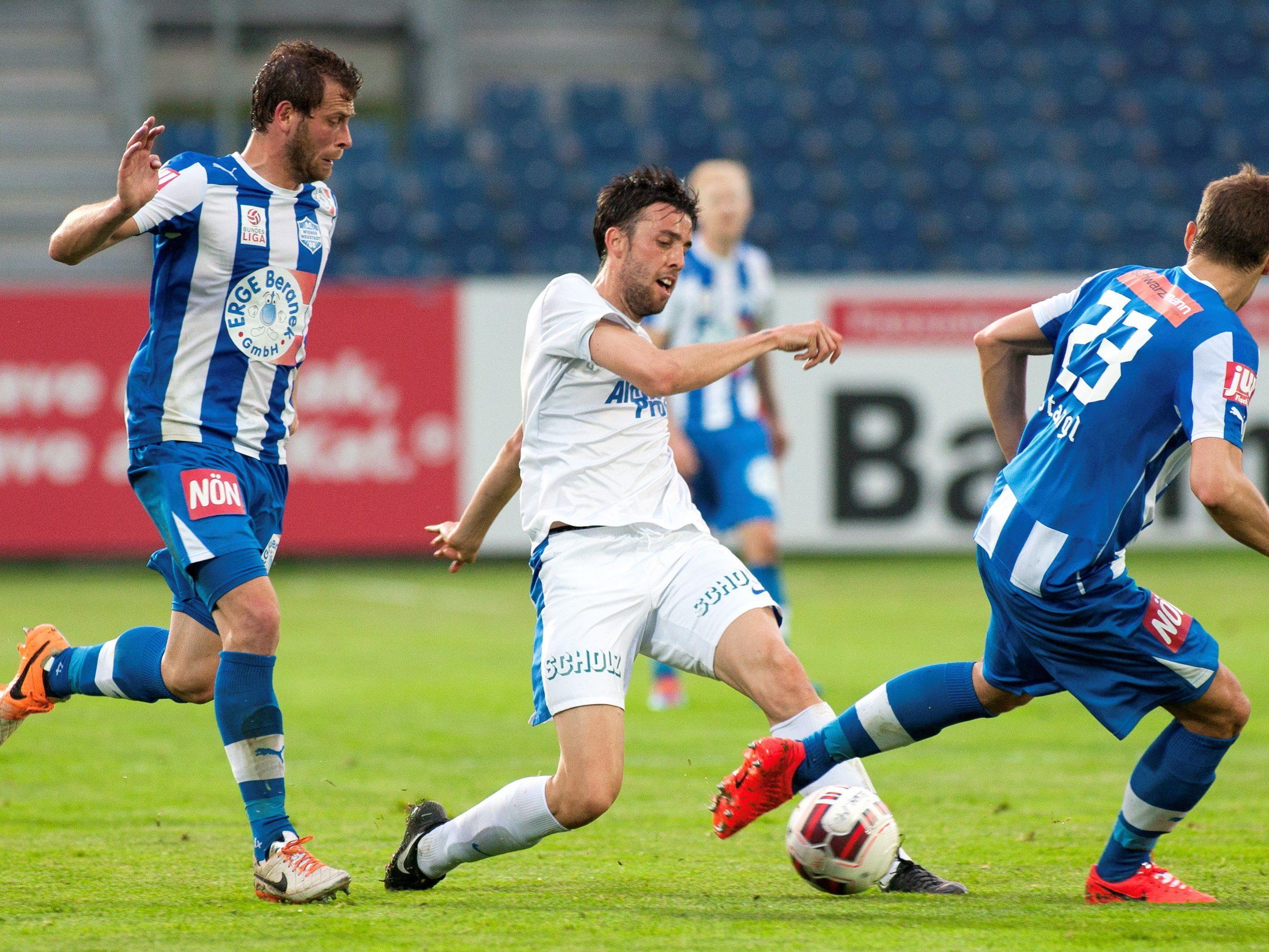 LIVE-Ticker zum Spiel SV Grödig gegen SC Wiener Neustadt ab 19.00 Uhr.